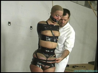 Futile Struggles - Eden' Dream - PantyHose and black tape Encasement - Part 1