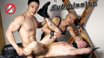 Description PeterF - Suit and Tied - Submission - Duncan Ku, Caged Jock, Tyler Slater