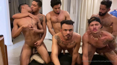 Only Fans – Hot Latin Orgy With Ricky