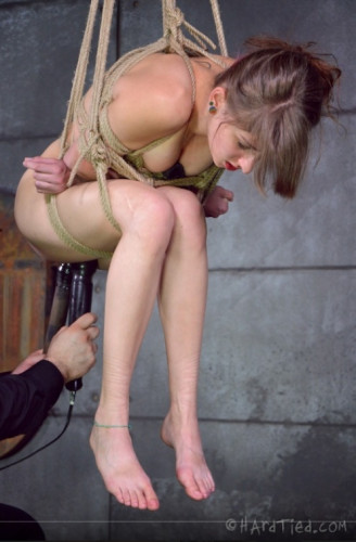 Girl Next Door Willow Hayes Lives Out Her Rough Rope Bondage Fantasy