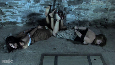 Infernal Restraints - Two Girl Predicament (Lavender Rayne, Brina James) Pt1