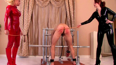Kendra James & Mistress Mandy - Lesson In Caning