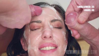 Sabrina Ice Bukkake Experience