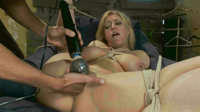 Blonde Big Tits, Ass Fucked In Tight Bondage (Darling, Mickey Mod)