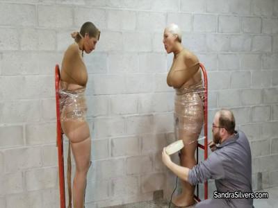 Sandra & Christina, Completely Mummified MILFs!