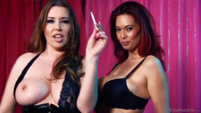 Anastasia Pierce and Tera Patrick Smoking