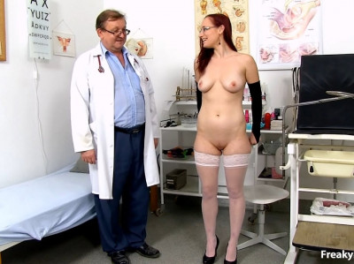 Ilsa (22 years girls gyno exam)