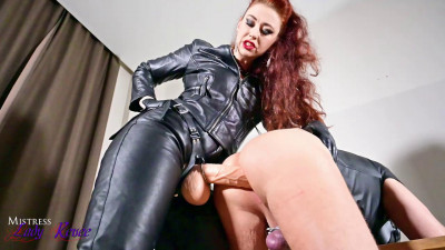Description Mistress Lady Renee Full Leather Strapon
