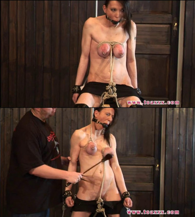 Bondage, spanking, torture and strappado for hot bitch part 2