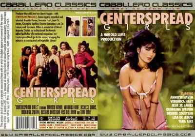 Description Centerspread Girls(1982)- Annette Haven, Lisa De Leeuw, Veronica Hart