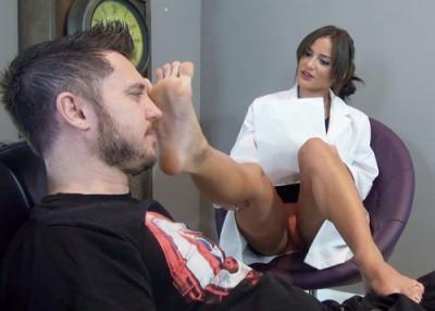 Bratty Foot Girls - Dr. Medina's Evil Foot Therapy