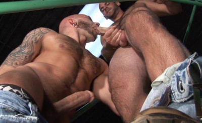 Description Muscle studs fucked by big dicks