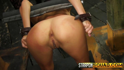 Marina Angel Loves Lesbian Domination Sybian with Esmi Lee