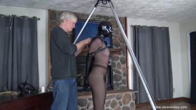Arielle Lane-Hooded and Harnessed
