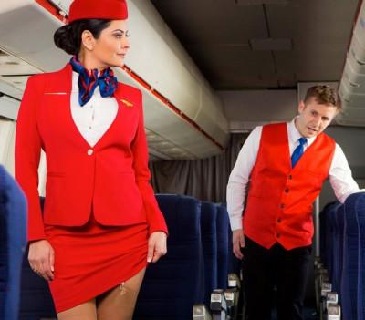 He comforts Mariska the stewardess FullHD 1080p