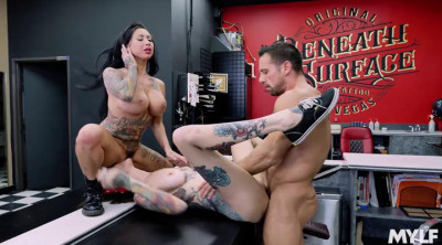 Rocky Emerson & Lily Lane – A Milky White Face Tat