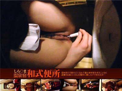Description Japanese style toilet hot spring inn or known
