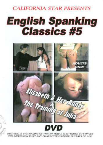 English Spanking Classics 5 DVD