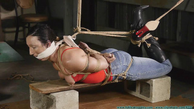 Futilestruggles Wenona Hogtied in Jeans and Boots - Part 2