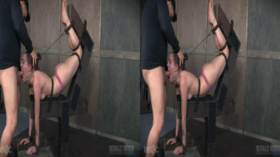3D — Sierra Cirque Face Fucked In Extreme Bondage!