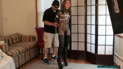 Brittany…Catsuit, Booted and Bound!