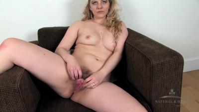 Description Karolina has a lovey muff to show off