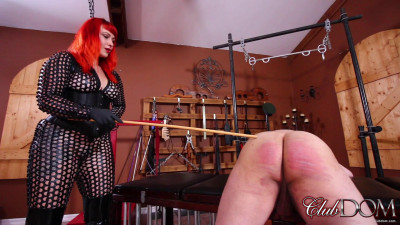 Caned To Tears For Lady Karma - Full HD 1080p