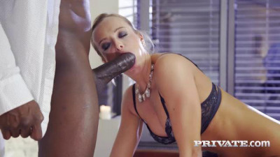 Finishes Interracial Anal With Creampie