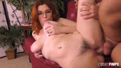 Annabel Redd – Voluptuous Redhead Loves Titty Fucking (2020)