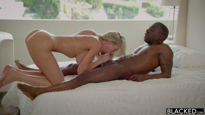 Hot Blonde Wife Takes a Huge Black Cock - Brandi Love & Joss Lescaf