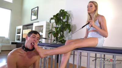 Chastity Foot Pet - Goddess Anny Aurora - Full HD 1080p