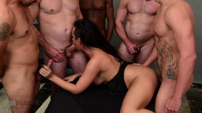 Monik Lorran Gangbang (english, pussy, new, smoking)