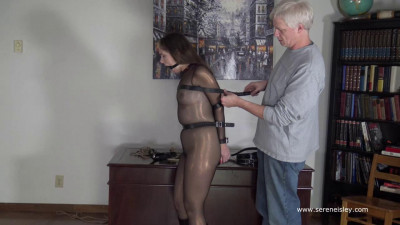 Rachel Adams: Brutal Elbow Straps and Two Gags