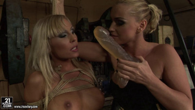 Adriana Russo & Kathia Nobili - gagged and tied