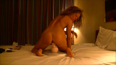 Retired to the hotel dildo