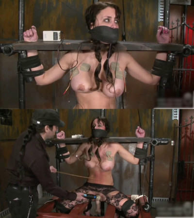 Bondage, spanking, strappado and torture for sexy bitch