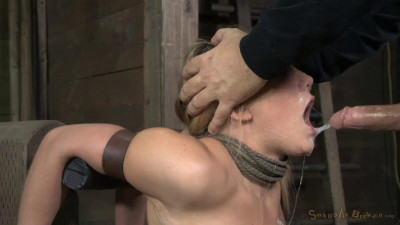 AJ Applegate shackled and blindfolded 12.06.2017