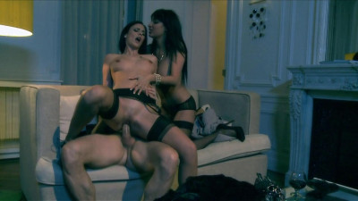 Hard trio with anissa kate and claire castel