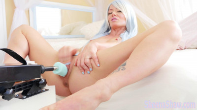 Sky Blue Fuck Me Machine – Full HD 1080p