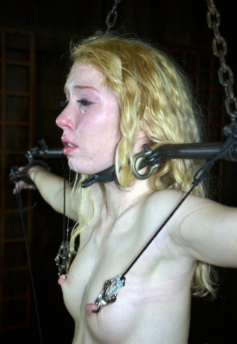 Wet pussy wants BDSM orgasm