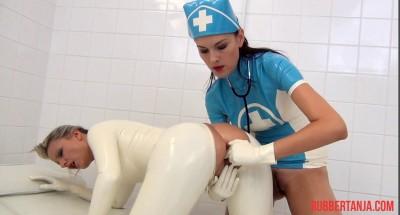 Description Kinky Rubber Clinic, Finger, Blow-Up Hood, Dildo Part One (2014)