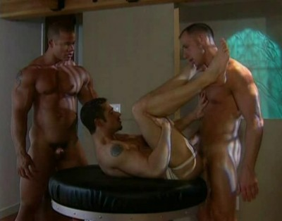 Muscle gorgeous men in hot anal