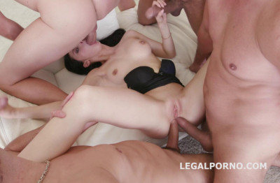 Weekend Orgy With Many Dicks & Double Anal