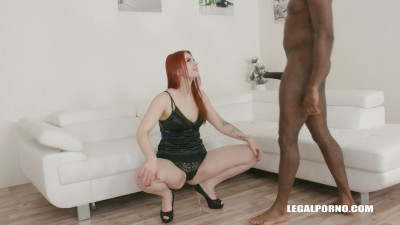 Meghan Rain discovers black feeling and enjoys her first anal