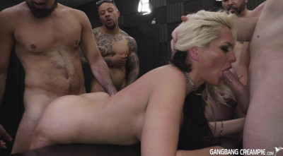 Creampie GangBang With Russian Slut