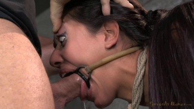 Lyla Storm brutally bound in strict strappado and completely destroyed
