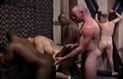 Interracial Group BDSM Fuck