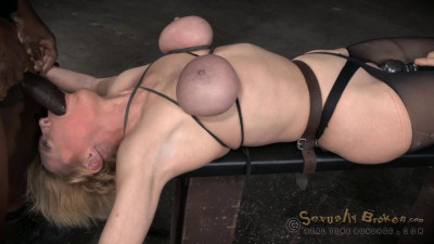 Sexy Blonde Milf Darling Huge Squirting Orgasms Epic Deepthroat In Strict Bondage (2015)