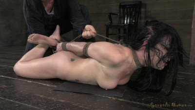 Description Stunning Veruca James manhandled and dicked down to the ground