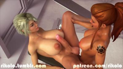 Brigitte x Sarah